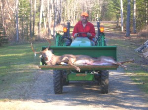 John Deere and Deer