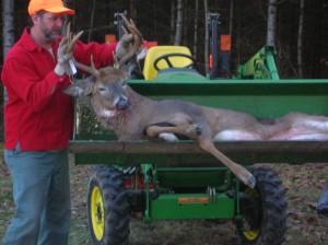 Me John Deere and Buck