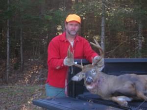Me With Deer in Truck