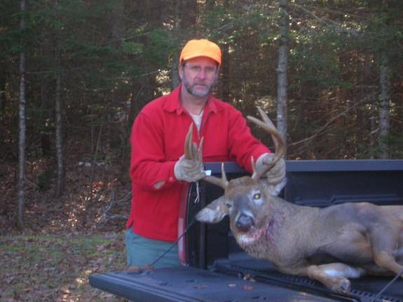 Deer in Truck