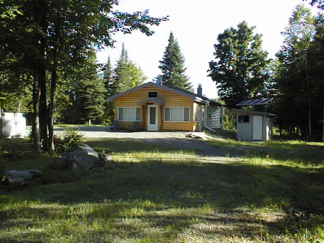 Maine cabin wilderness realty maine land sale specialists for Remote cabin plans