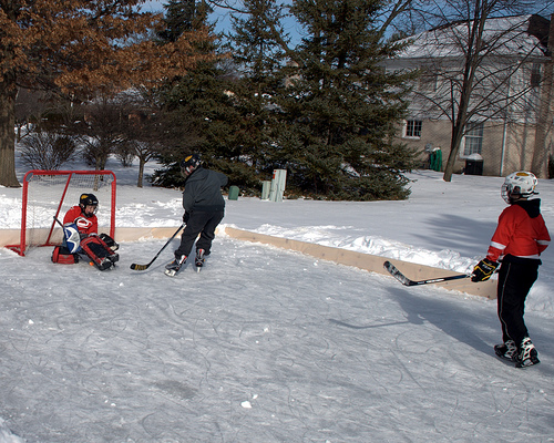 backyard ice rink wilderness realty maine land sale specialists
