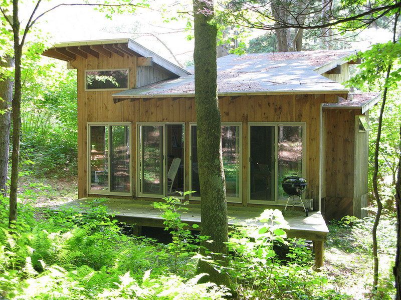 Building A Cabin In Maine Wilderness Realty Maine Land