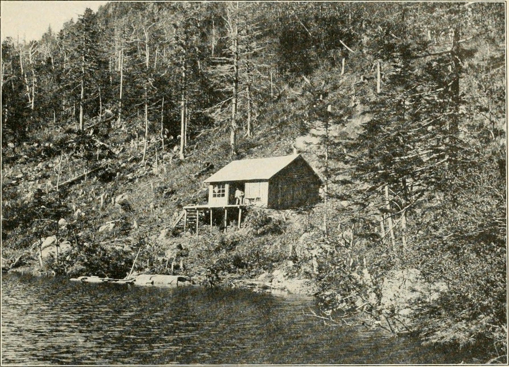Hunting camp for Maine fishing camps